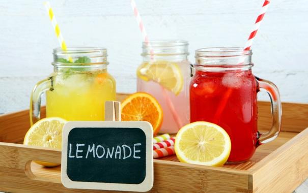Фото обои напитки, fresh, лимоны, лимонад, lemons, lemonade