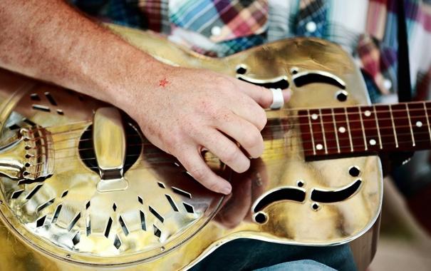 Фото обои музыка, фон, гитара