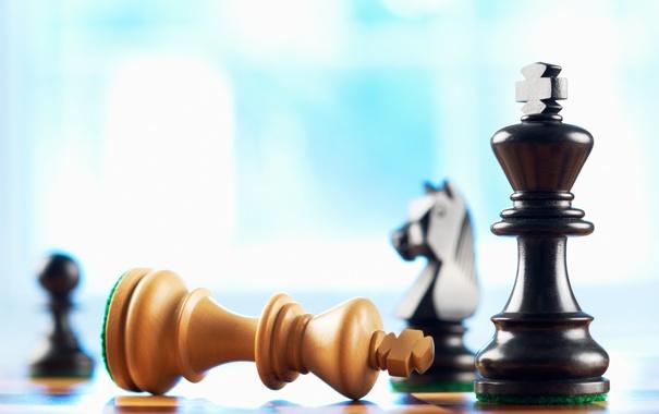 Фото обои chess, death, king, bishop, pieces