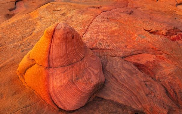 Фото обои горы, камни, скалы, цвет, слой