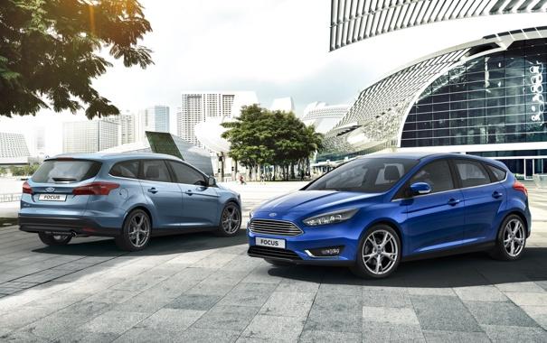Фото обои Ford, Focus, 2014, форд. фокус