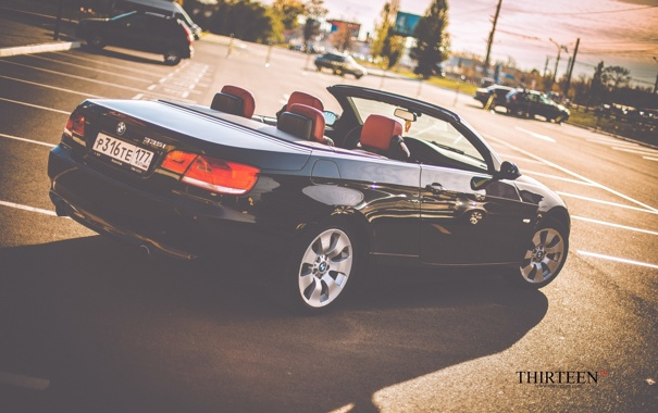 Фото обои BMW, фотограф, кабриолет, photography, photographer, Thirteen