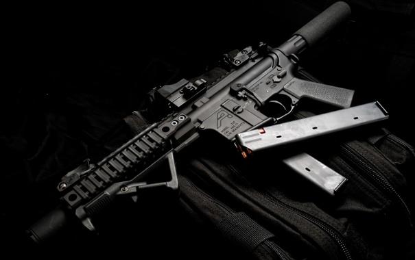 Фото обои оружие, карабин, DB15, пистолетная версия