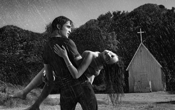 Фото обои девушка, фильм, парень, Twilight