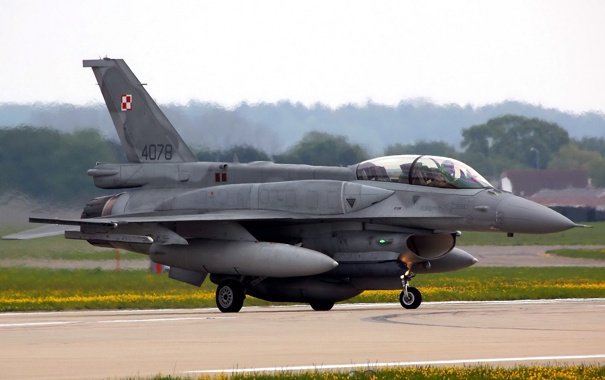 Фото обои оружие, самолёт, F16