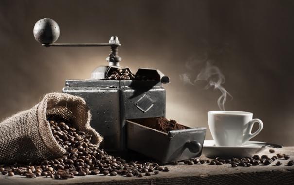 Фото обои drink, coffe, grind coffee beans