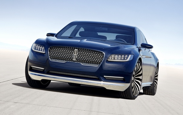 Фото обои Lincoln, Concept, Continental, концепт, континенталь, линкольн
