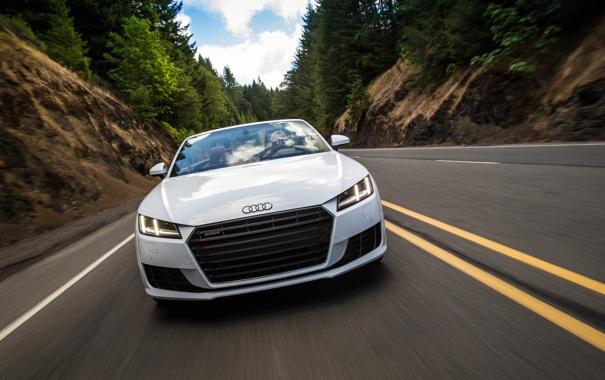 Фото обои Audi, ауди, Roadster, родстер, quattro, TFSI, US-spec