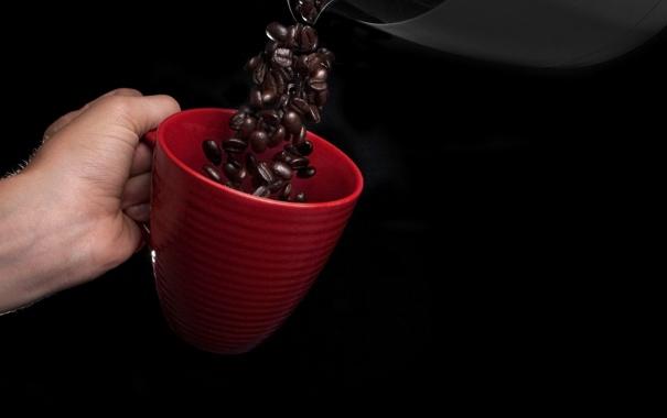 Фото обои напиток, зёрна, Coffee