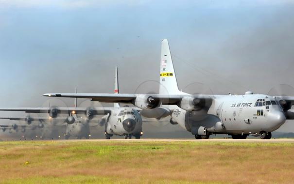 Фото обои авиация, самолёт, C-130 Hercules