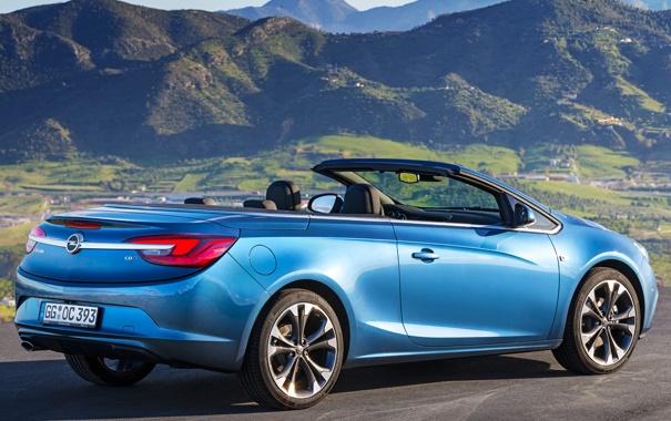Фото обои машина, Opel, blue, опель, Cascada