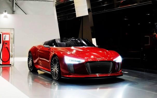 Фото обои Audi, Spyder, Tron