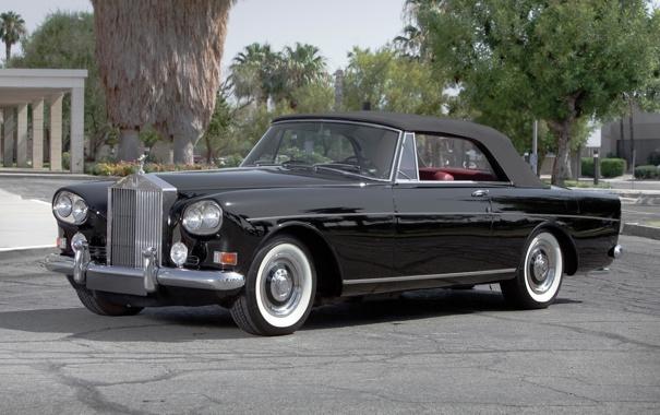 Фото обои авто, ретро, обои, Rolls Royce, классика, Coupe, Park
