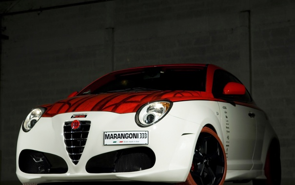 Фото обои тюнинг, Alfa Romeo, MiTo, альфа ромео, Marangoni, марангони, M430