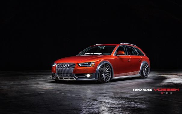 Фото обои Audi, Авто, Машина, перед, Auto, Vossen, Wheels