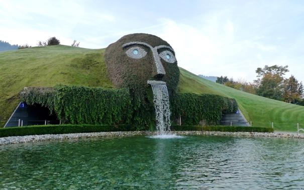 Фото обои музей, Swarovski, Австрия., вблизи города Инсбрук
