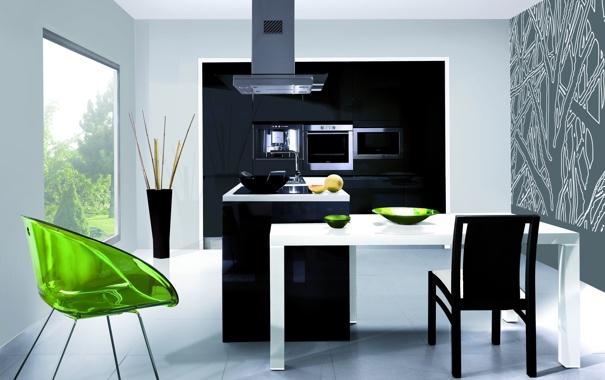 Фото обои дизайн, дом, стиль, вилла, интерьер, минимализм, кухня