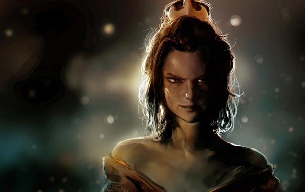 Фото обои art, Avatar: The Last Airbender, Аватар: Легенда об Аанге, Azula