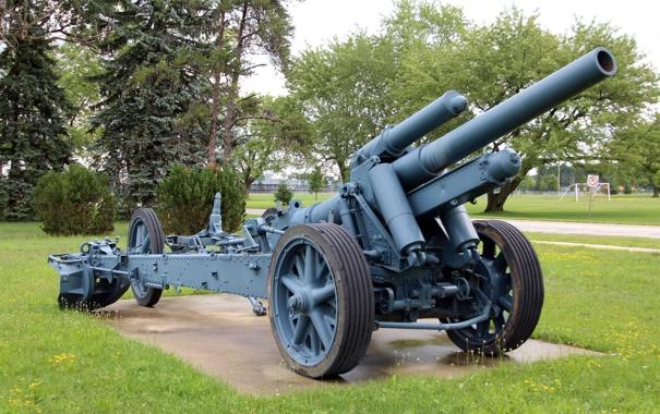 Фото обои гаубица, тяжёлая, полевая, sFH 18, 150-мм, Feldhaubitze