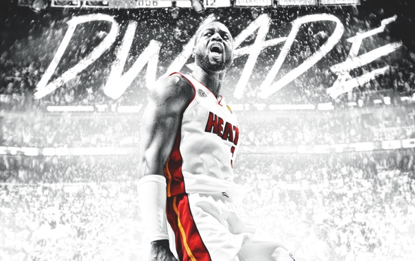Фото обои Майами, Спорт, Баскетбол, Форма, Miami, NBA, Heat