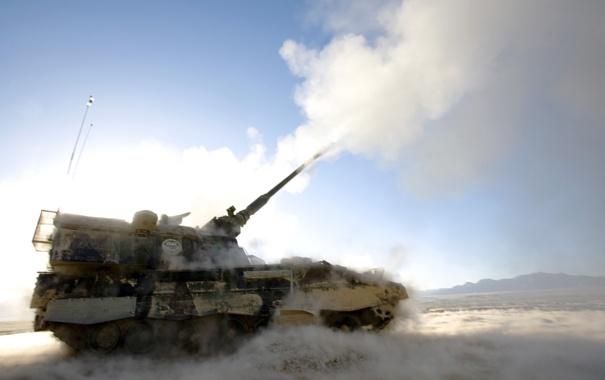 Фото обои гаубица, армия, PZH 2000, оружие