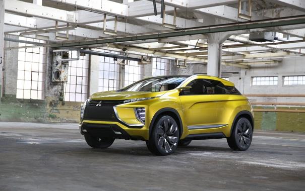 Фото обои Concept, Mitsubishi, мицубиси, кроссовер