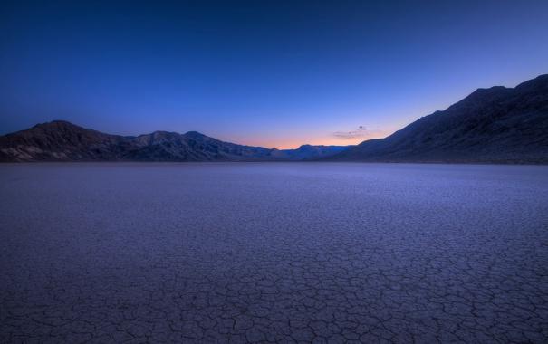 Фото обои desert, night, dry
