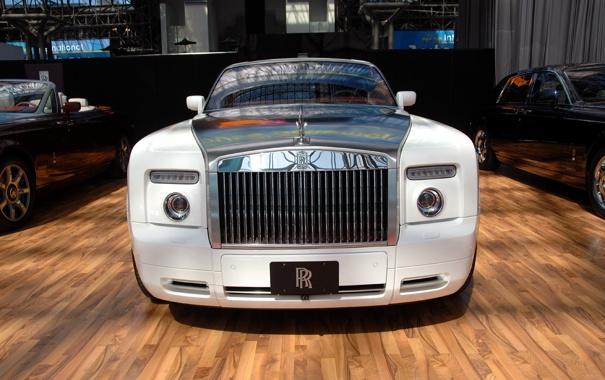 Фото обои Wite, Car, Rolls-Royce