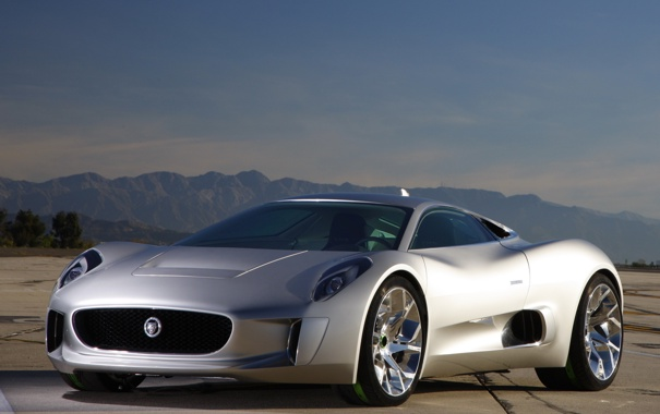 Фото обои Concept, Jaguar, концепт, ягуар, автомобиль, C-X75