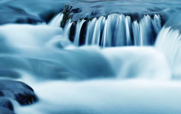 Фото обои реки, камни, река, природа, вода, потоки