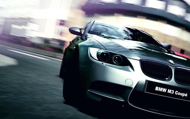 Фото обои стекло, фары, поворот, решетка, автомобиль, Coupe, радиаторная