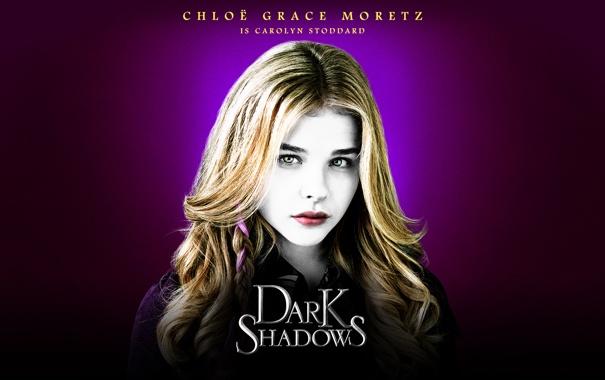 Фото обои актриса, Chloë Moretz, Dark Shadows, Мрачные тени, Хлоя Морец