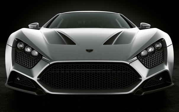 Фото обои Машина, Серый, ST1, Zenvo, Car, Автомобиль, Cars