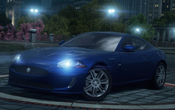Фото обои Most Wanted, 2012, Jaguar XKR, Need for speed