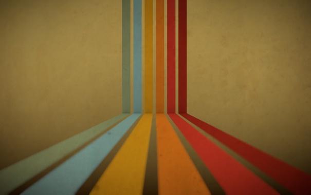 Фото обои абстракция, полосы, краски, радуга, colors, линий, rainbow