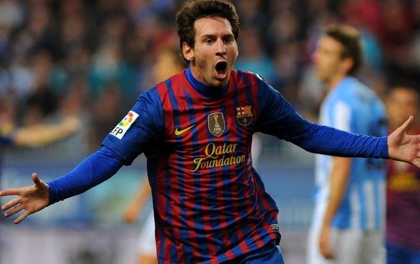 Фото обои Messi, Football, Спорт, Барселона, Месси, Футбол, Barcelona