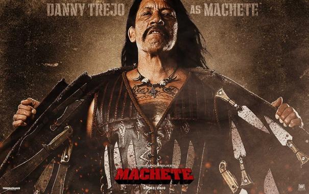 Фото обои ножи, мачете, machete, danny, trejo