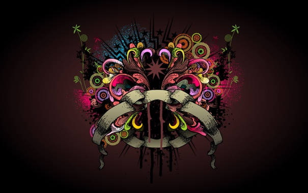 Фото обои цвета, стиль, креатив, узор, яркость, creative, зарисовка