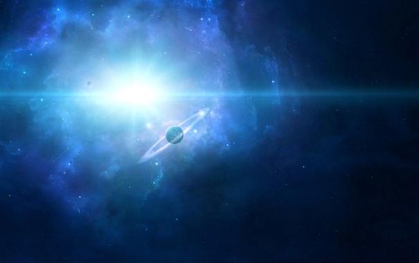 Фото обои свет, планета, Stardust