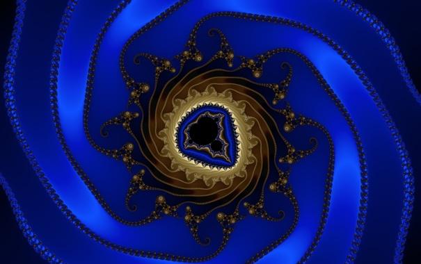 Фото обои завитки, узор, спираль, шов, свет, цвет