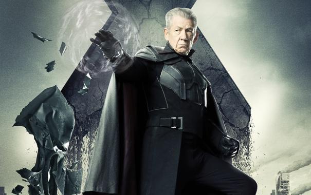 Фото обои Magneto, Люди Икс, older, Days of Future Past, Erik Lehnsherr, Иэн МакКеллен Ian McKellen, Дни ...