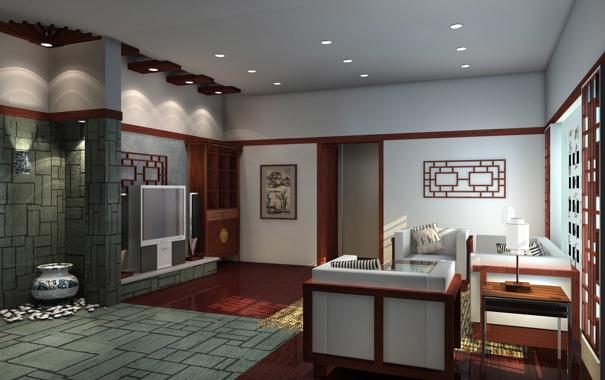 Фото обои room, style, house
