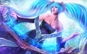 Картинка девушка, League of Legends, Sona, Maven of the Strings