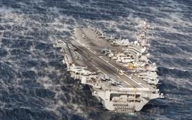 Обои оружие, корабль, USS George H.W. Bush