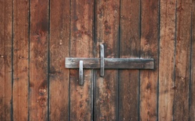 Обои old, wooden, door