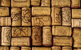 Обои фон, вино, пробки, марки, винные