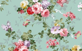 Обои фон, цветочки, Розочки