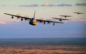 Картинка New Mexico, formation, MC-130J