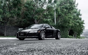 Картинка ауди, Audi R8, supercar, road