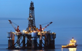 Обои Rig, Oil, Gas, Normand Titan - Teesport, Ocean Princess, Drilling